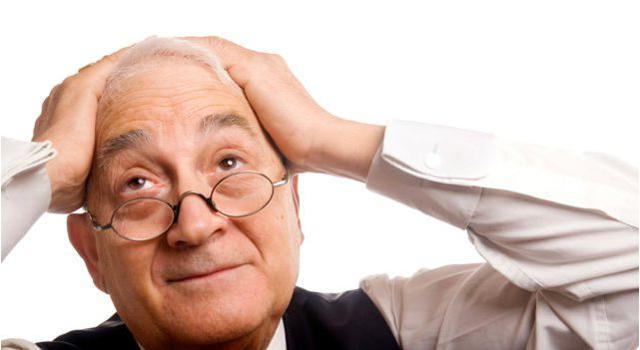 Старческий маразм: особенности, симптомы и виды слабоумия