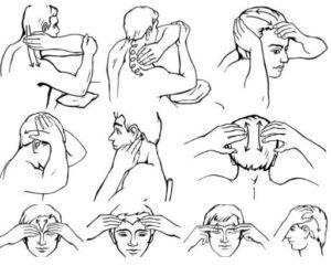 Массаж головы для улучшения кровообращения и роста волос