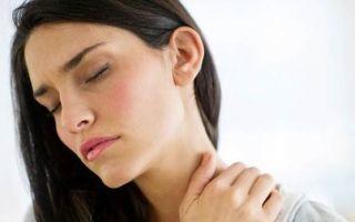 Вертеброгенная цервикалгия: причины, виды, лечение боли в шеи