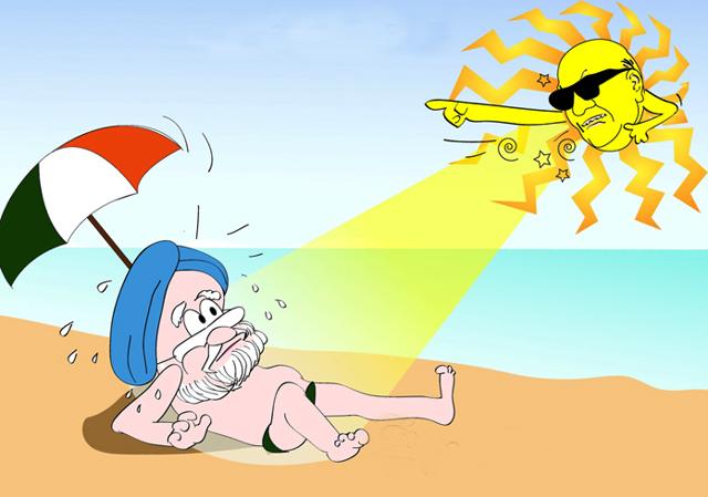 Симптомы солнечного удара, его отличия от теплового